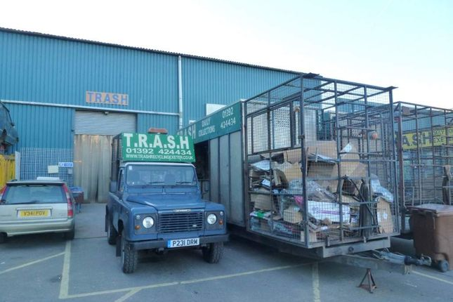 Thumbnail Industrial for sale in Exeter, Devon