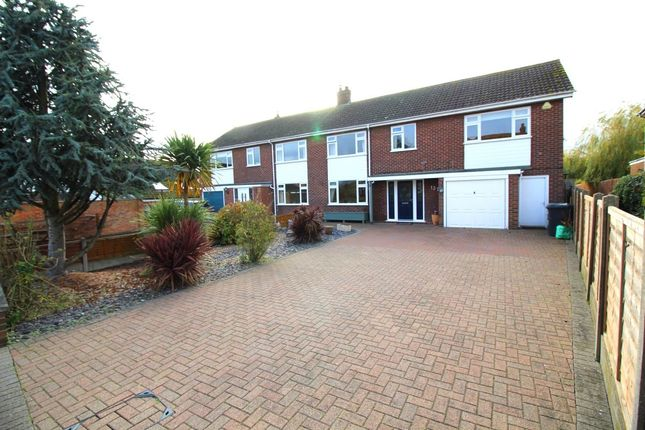 Thumbnail Semi-detached house for sale in Lower Shelton Road, Marston Moretaine, Bedford, Bedfordshire