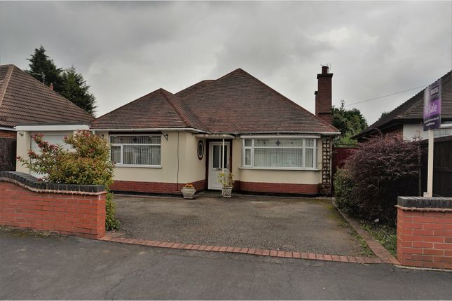 Thumbnail Detached bungalow for sale in Colby Road, Leicester