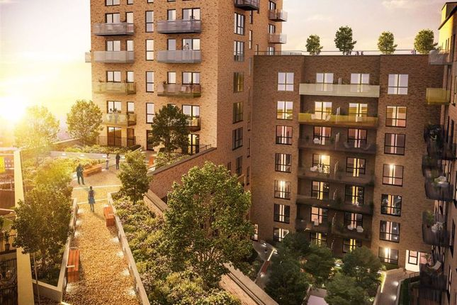 Thumbnail Flat for sale in Merrick Road, Southall, Middlesex