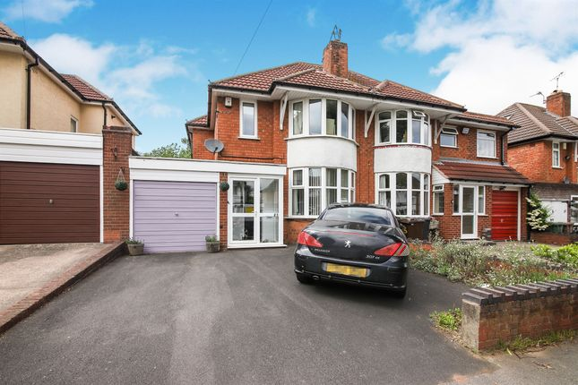 Thumbnail Semi-detached house for sale in Ralph Road, Shirley, Solihull