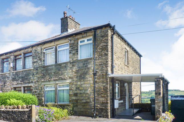 Thumbnail Semi-detached house for sale in Elizabeth Street, Oakworth, Keighley