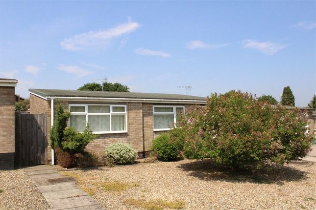 Thumbnail Detached bungalow to rent in Carlson Gardens, Lutterworth