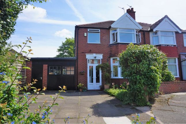 Thumbnail Semi-detached house for sale in Macauley Road, Manchester