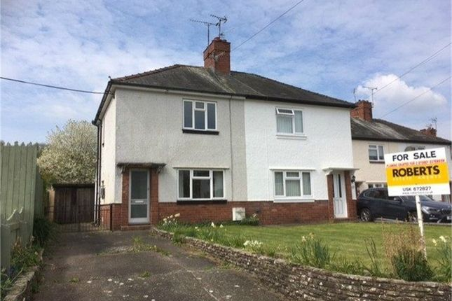 Thumbnail Semi-detached house for sale in Mill Street, Usk