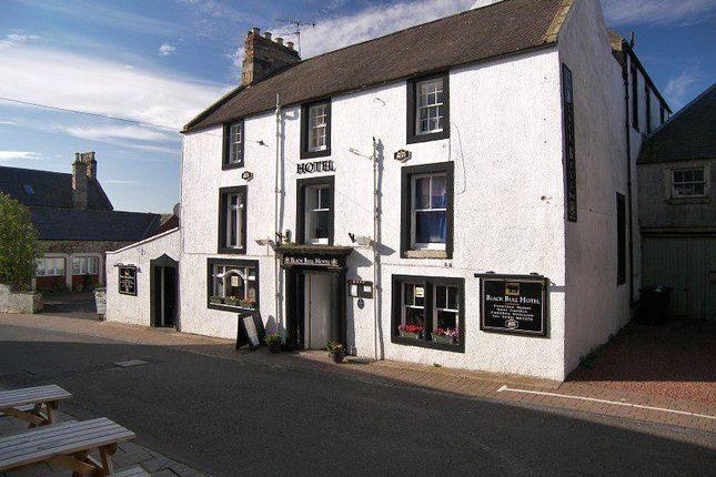 Leisure/hospitality for sale in Black Bull Hotel, 15 Black Bull Street, Duns, Scottish Borders