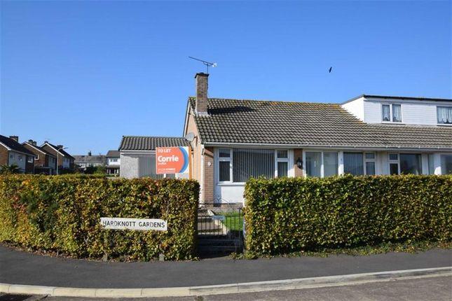 Thumbnail Semi-detached bungalow to rent in Hardknott Gardens, Barrow-In-Furness, Cumbria