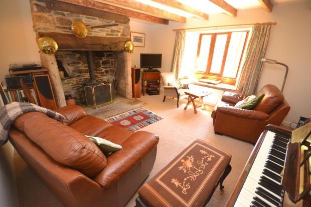 Sitting Room of Upton Cross, Liskeard, Cornwall PL14