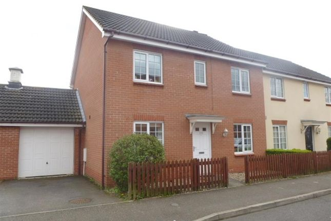 Thumbnail Semi-detached house for sale in Mallow Road, Thetford