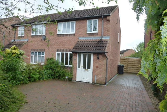 Thumbnail Semi-detached house to rent in Riverside Walk, Strensall, York