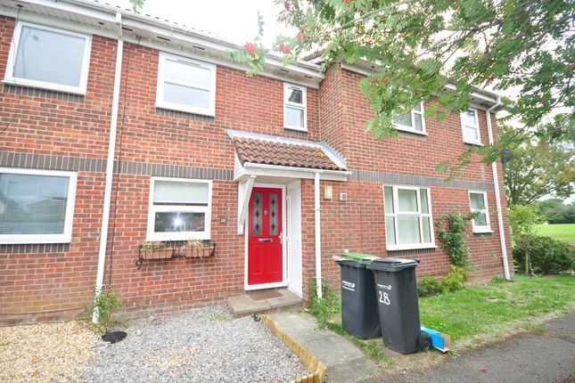 Thumbnail Terraced house to rent in Heather Close, Gosport