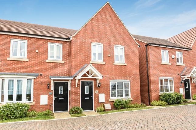 Thumbnail End terrace house for sale in Kiln Crescent, Chilton, Didcot