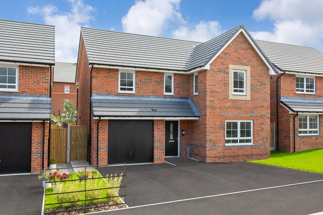 "Thumbnail Detached house for sale in ""Hale"" at Pewterspear Green Road, Appleton, Warrington"