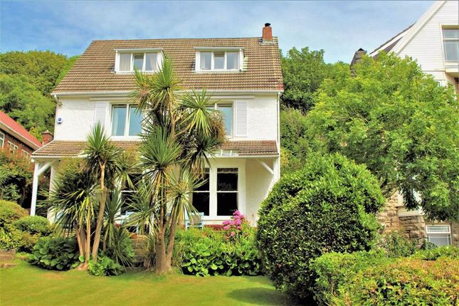Thumbnail Detached house for sale in Rotherslade Road, Langland, Swansea