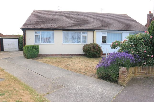 Thumbnail Semi-detached bungalow for sale in Eves Court, Dovercourt, Harwich