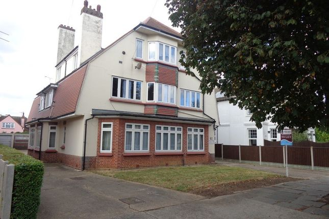 Thumbnail Flat to rent in Victoria Road, Clacton-On-Sea, Essex