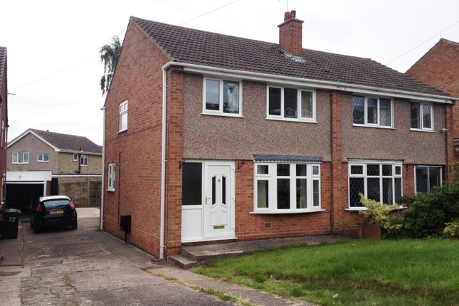 Thumbnail Semi-detached house to rent in St Edithas Road, Polesworth, Tamworth