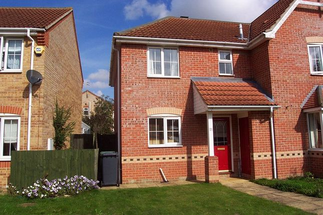 Thumbnail Semi-detached house to rent in Limetree Close, Sleaford