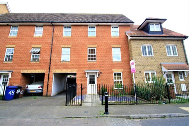 Thumbnail Town house for sale in Caspian Close, Purfleet