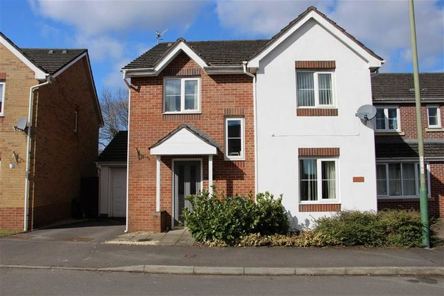 Thumbnail Detached house for sale in Sword Hill, Castle Maen, Caerphilly