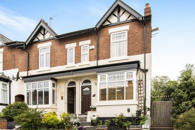 Thumbnail End terrace house for sale in Rose Road, Harborne, Birmingham, West Midlands