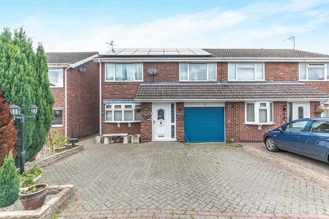 Thumbnail Semi-detached house for sale in Kildermorie Close, Colchester