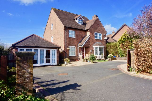 Thumbnail Detached house for sale in Farm Lane, Horsehay
