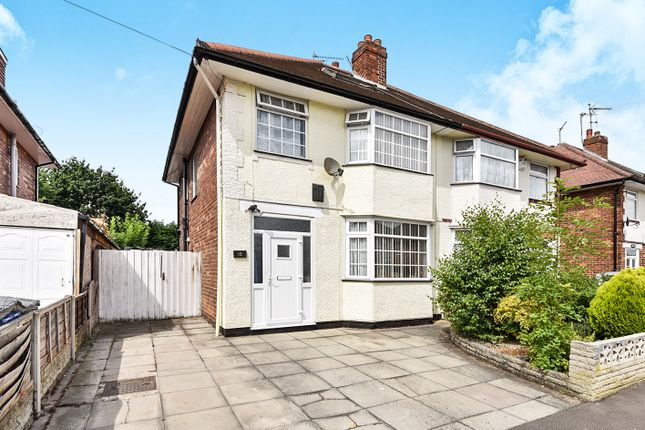 Thumbnail Semi-detached house for sale in Farm Drive, Alvaston, Derby