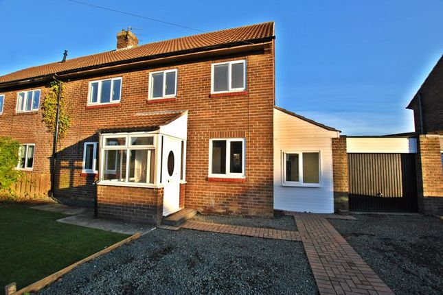 Thumbnail Semi-detached house for sale in Kirkley Drive, Ponteland, Newcastle Upon Tyne