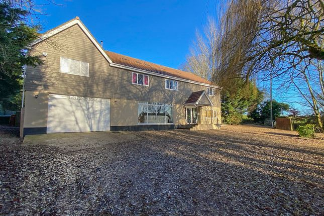 Thumbnail Detached house for sale in Mattishall Road, Thuxton, Norwich