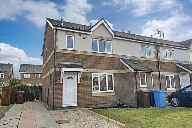 Thumbnail End terrace house for sale in St. Abbs Close, Hull
