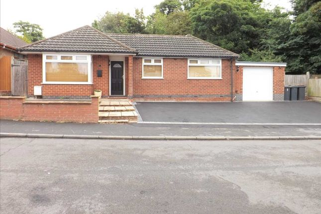 Thumbnail Detached bungalow to rent in Windmill Road, Nuneaton