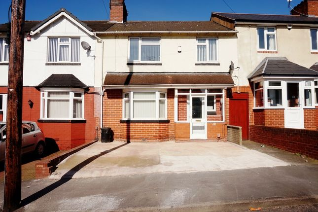 Terraced house for sale in Stanway Road, West Bromwich, West Midlands
