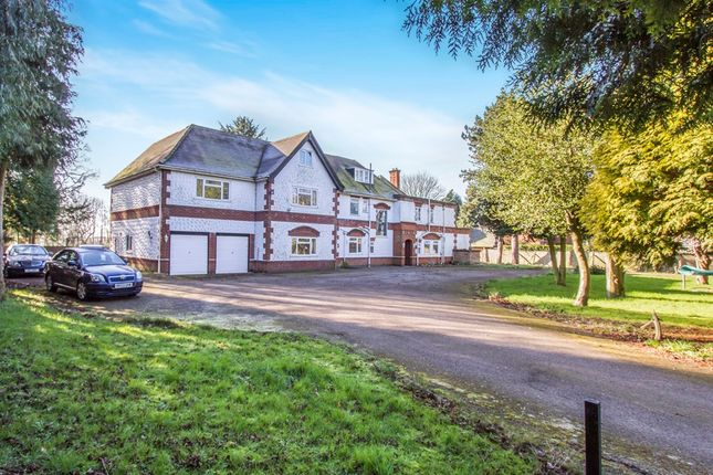 Thumbnail Detached house for sale in Uppingham Road, Bushby, Leicester