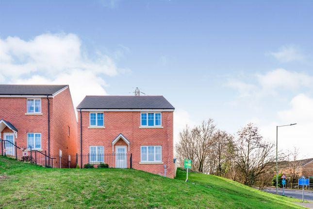 Thumbnail Detached house for sale in Cae Cenydd, Brackla, Bridgend