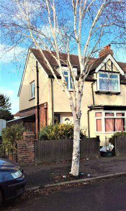 Thumbnail Semi-detached house to rent in Rosslyn Avenue, Feltham, Feltham