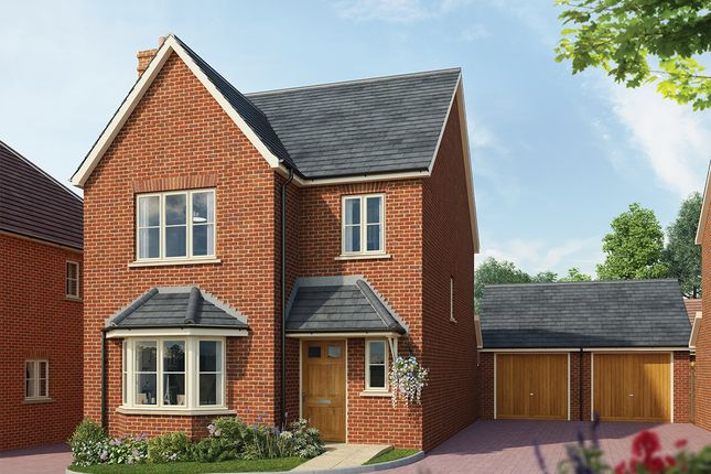 Thumbnail Detached house for sale in Fleet Road, Hartley Wintney, Hook