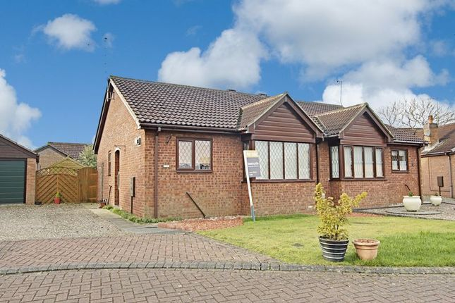 Thumbnail Semi-detached bungalow for sale in Grassam Close, Preston, Hull