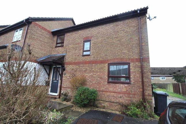 Thumbnail End terrace house for sale in Paddock Close, Bradley Stoke, Bristol