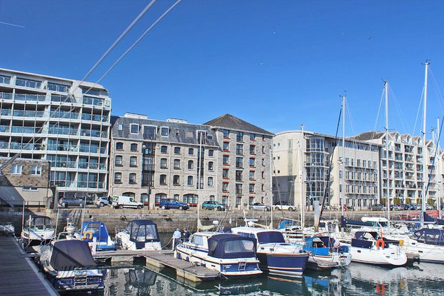 Thumbnail Flat for sale in Harbourside Court, Sutton Harbour, Plymouth