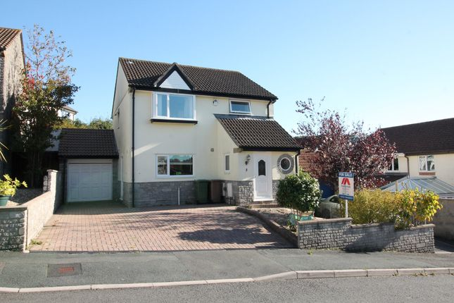 Thumbnail Detached house for sale in Newnham Close, Plympton, Plymouth