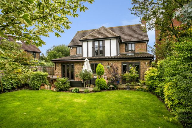 Thumbnail Detached house for sale in Lapins Lane, Kings Hill, West Malling