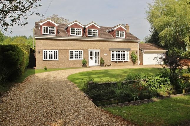 Thumbnail Detached house for sale in Wolverton Common, Tadley