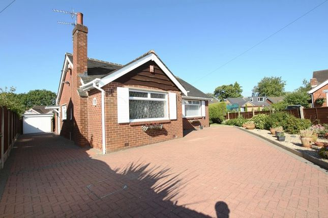 Thumbnail Detached bungalow for sale in Nevin Avenue, Knypersley, Biddulph