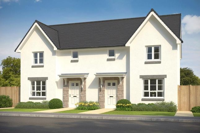 """Thumbnail Semi-detached house for sale in """"Craigend"""" at 1 Appin Drive, Culloden"""