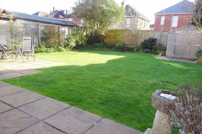 Southerly Garden of Capstone Road, Charminster, Bournemouth BH8