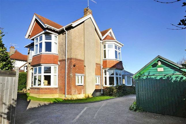Thumbnail Detached house for sale in Cissbury Road, Broadwater, Worthing, West Sussex