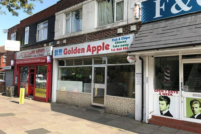 Thumbnail Restaurant/cafe for sale in Davyhulme Road East, Stretford, Manchester