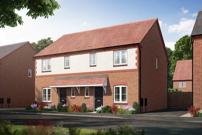"Thumbnail Semi-detached house for sale in ""The Cotterdale"" at Kiln Lane, Leigh Sinton, Malvern"