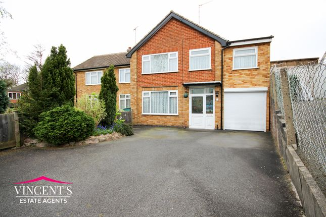 Thumbnail Semi-detached house for sale in Cranberry Close, Braunstone Town, Leicester